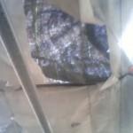 温室カーテン補修